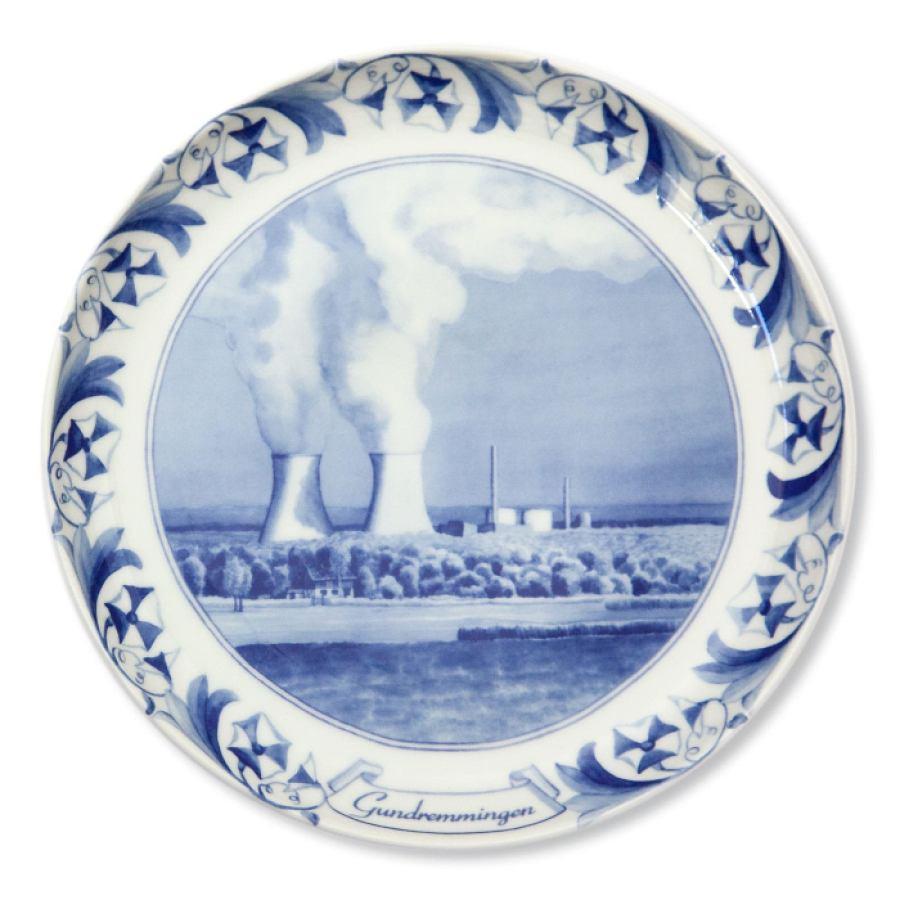 Nuclear Plate Gundremmingen (porcelain)