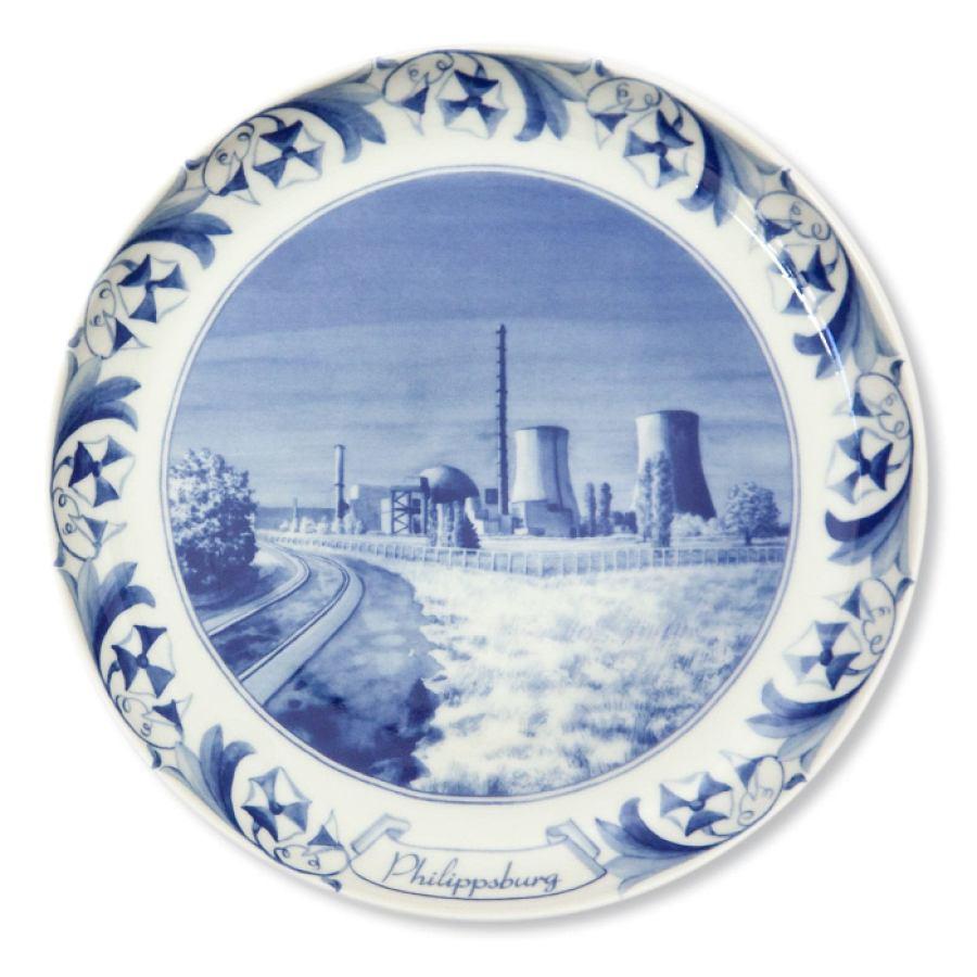 Nuclear Plate Philippsburg (porcelain)