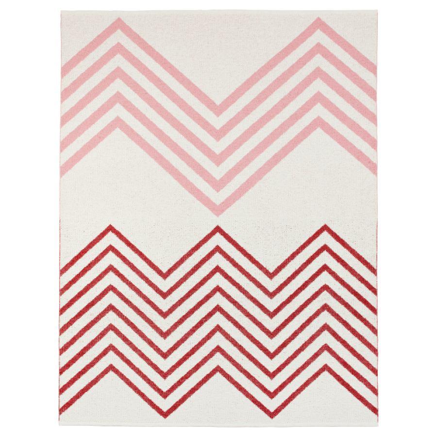 "Swedish outdoor design rug ""Sapmi"" (Rot)"