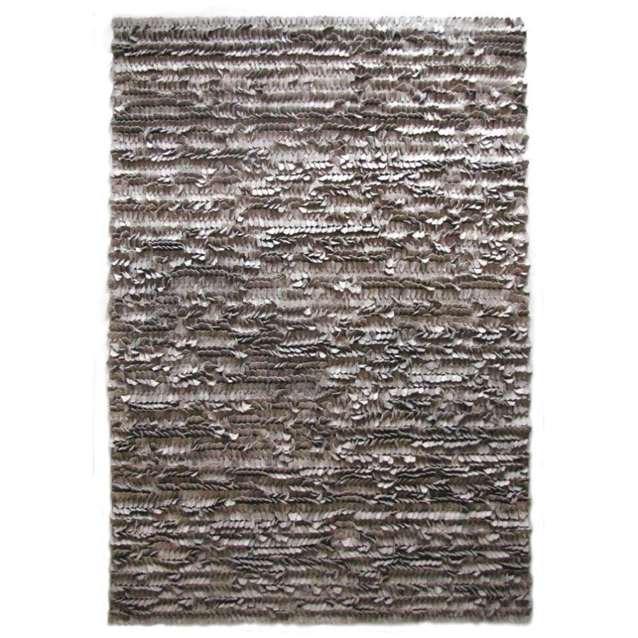 Handmade wool felt rug 'Field'