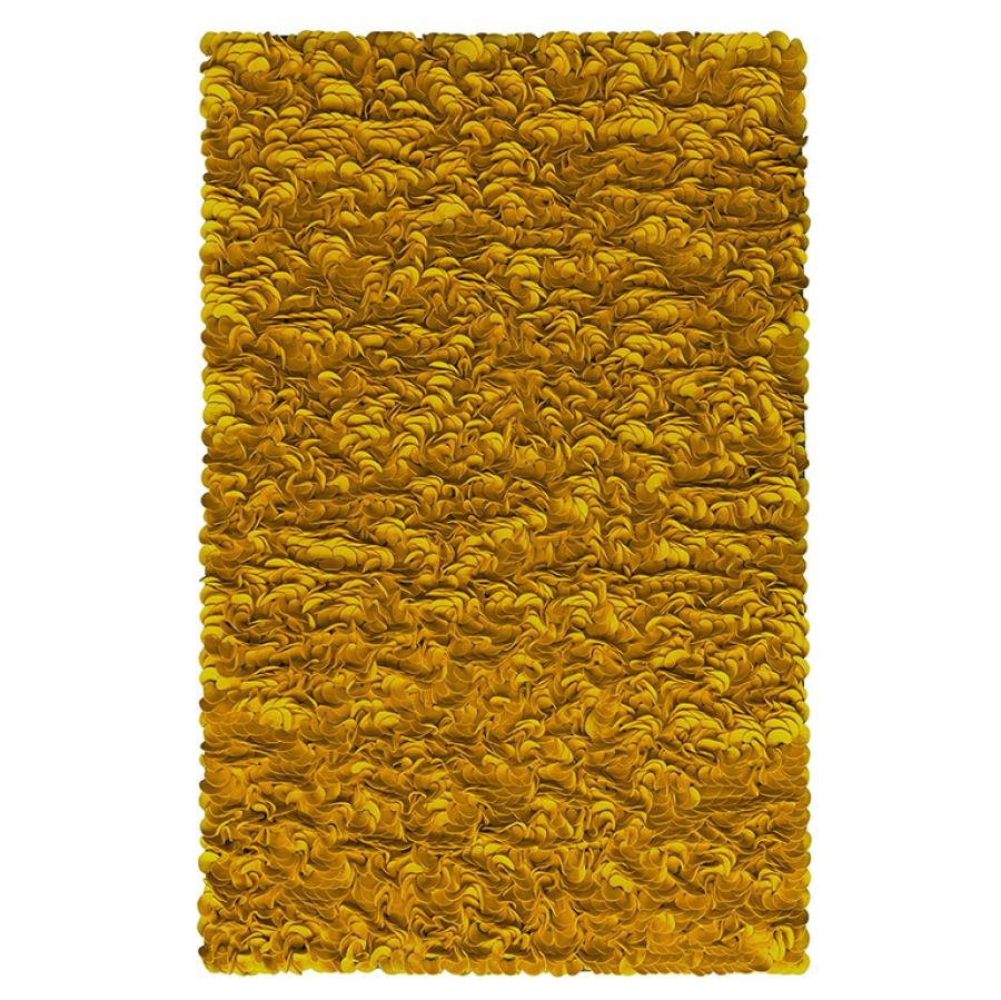 Designer-Teppich 'Pure' aus Wollfilz in Wunschfarbe und -größe