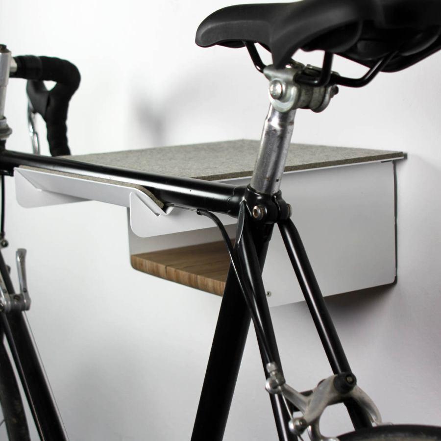 Fahrradhalter aus Edelstahl für Rennfahrräder