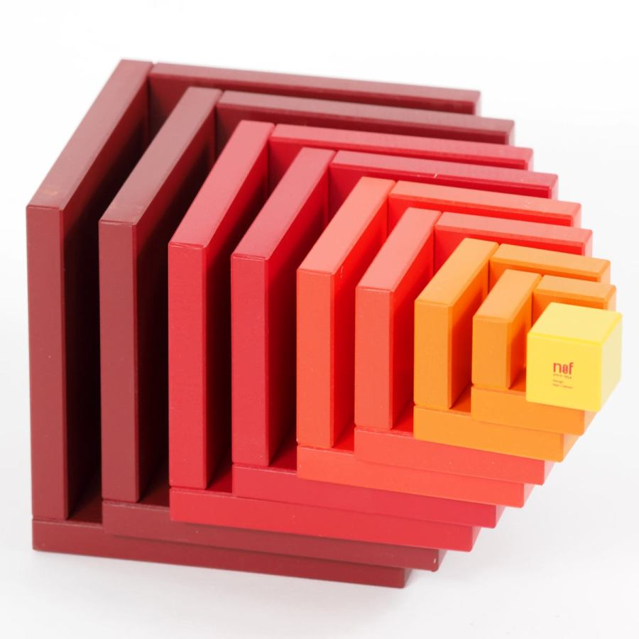 Naef Game Cella made of Wood (Red)