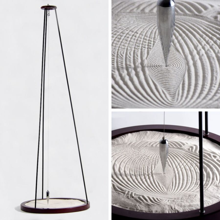 Large Sand Pendulum with Wooden Base (Height 134 cm) – 2nd Choice