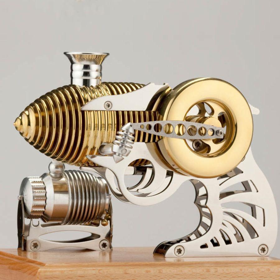 Pistolenförmiger Vakuum-Motor mit Traktorsound