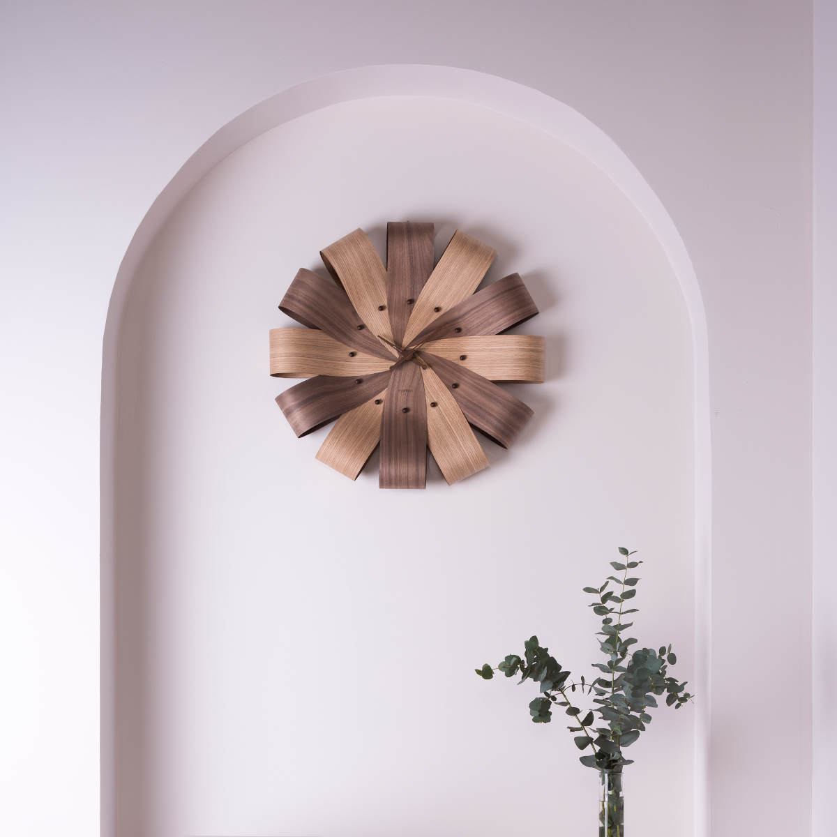 Design wall clock Ciclo by Nomon