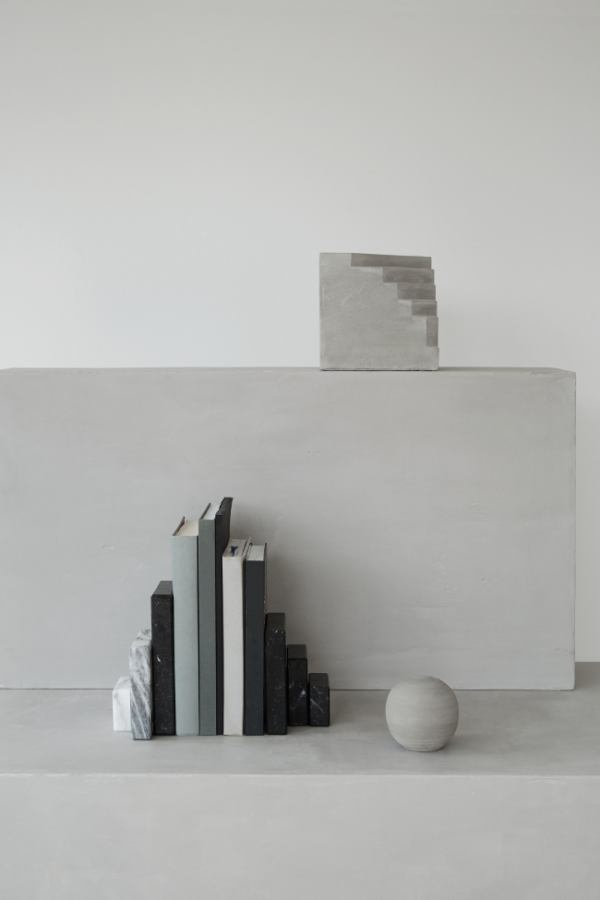 Bookend made of marble