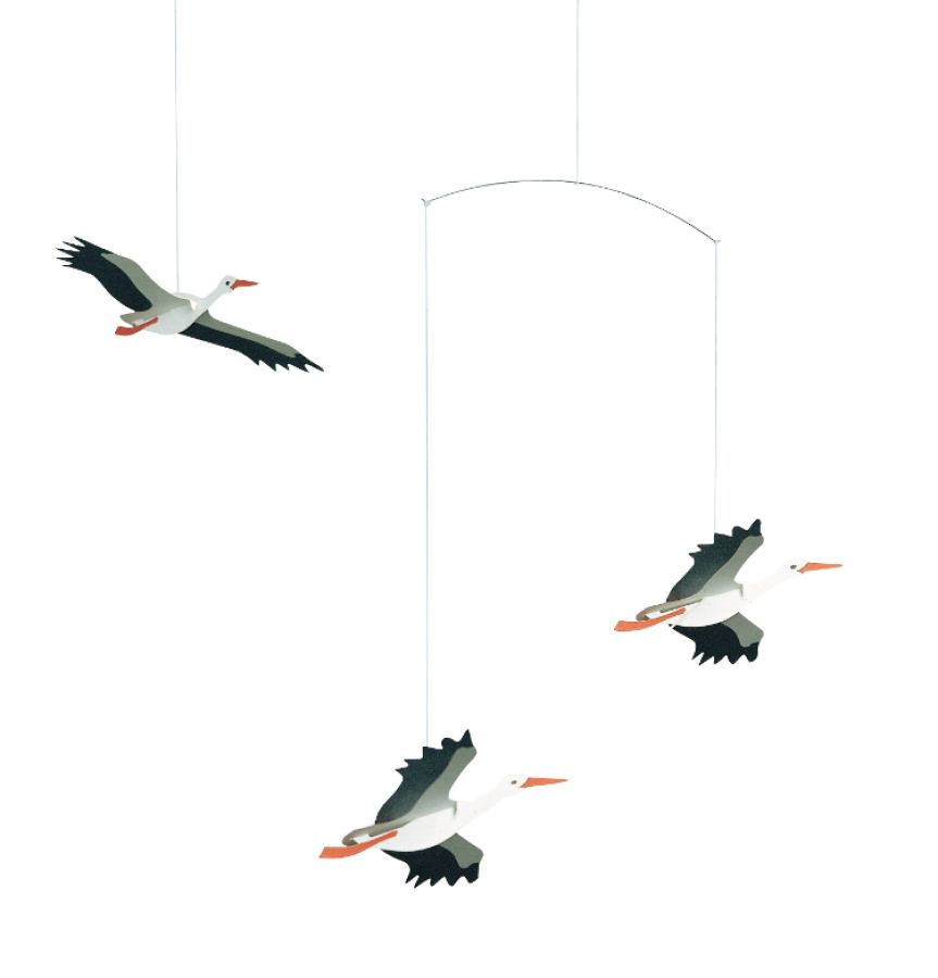 Mobile Danish Lucky Storks