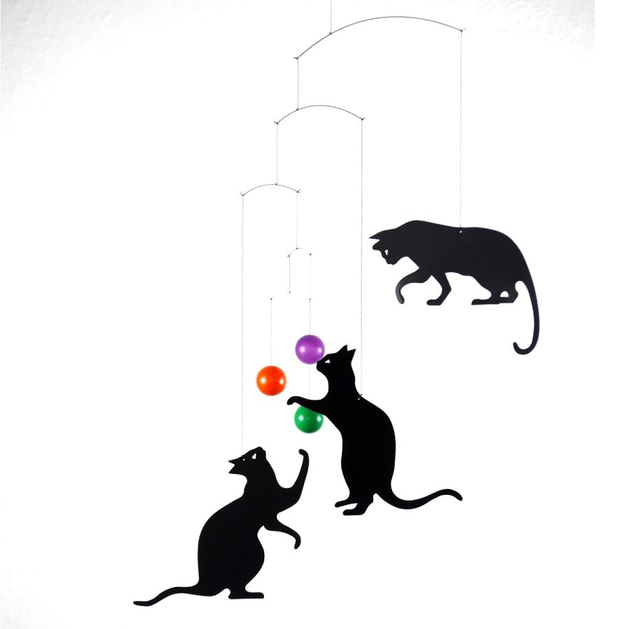 Cats - mobile for babies and children by Flensted | Kunstbaron