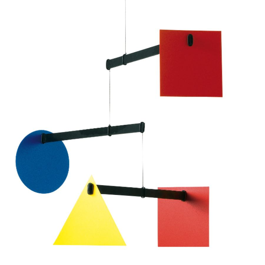 Mobile Bauhaus by Flensted Mobiles | Kunstbaron