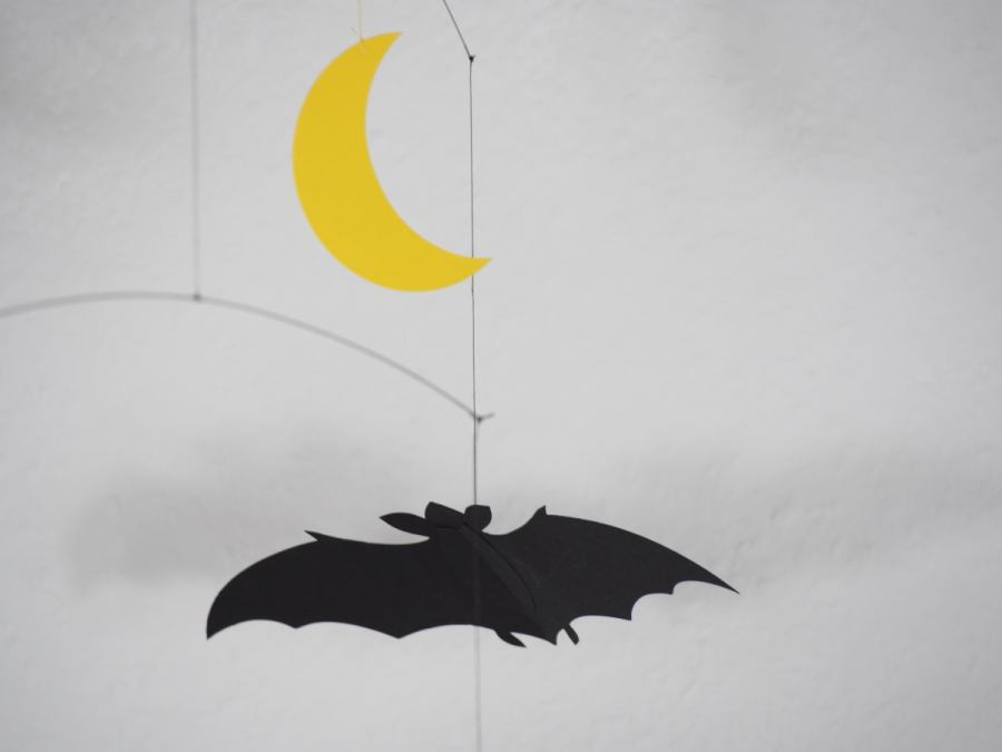 lucky bats- mobile for babies and children by Flensted | Kunstbaron