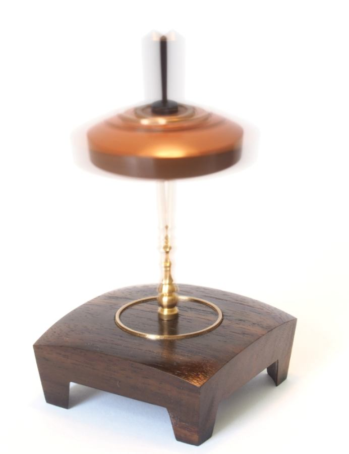 Stick Top  - Spinning Top with socket