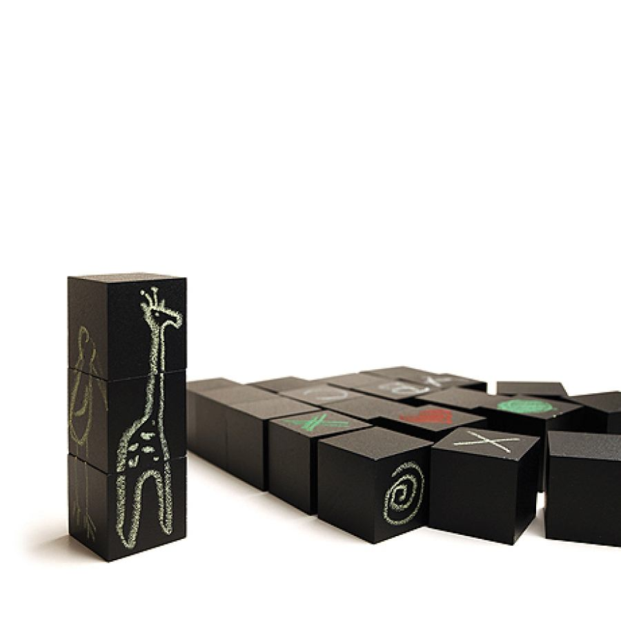 "Creative Naef toy ""Colorem"" with painting chalk"