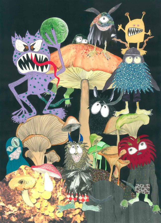 Poster Kunstdruck Monsters