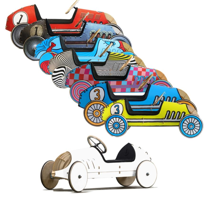 Individual Design Sets for Ride-On Cars