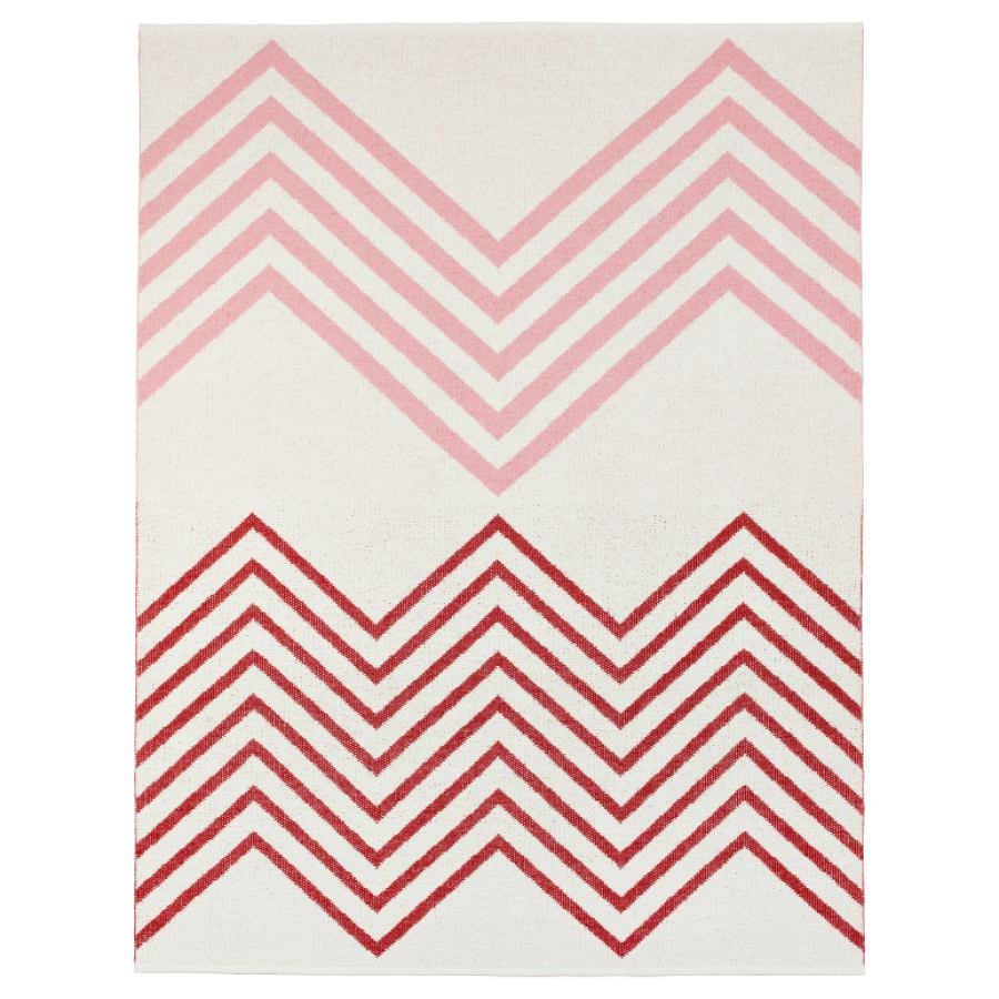 "Swedish outdoor design rug ""Sapmi"" (Rot)"