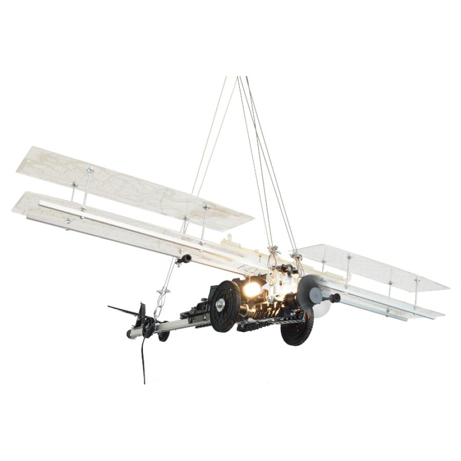 Ink Jet Flying Machine