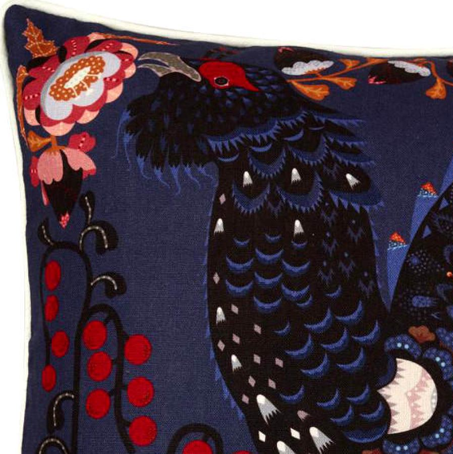 Pillowcase with Grouse made of Cotton & Linen