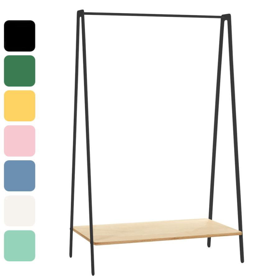 Design Clothes Rack made of Steel and Wood in Various Colors