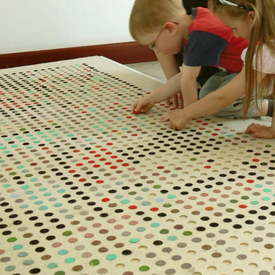 "Creative design rug ""Lozenges"""