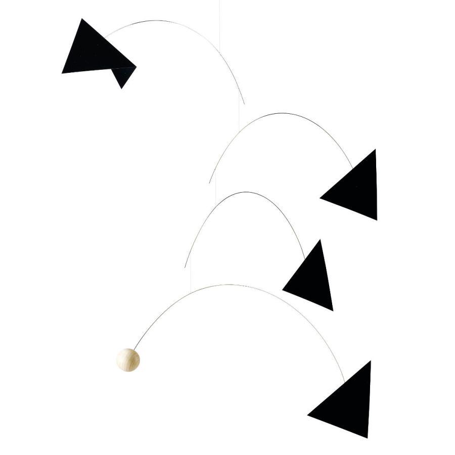 gro es mobile life thread schwarz wei von flensted mobiles kunstbaron. Black Bedroom Furniture Sets. Home Design Ideas
