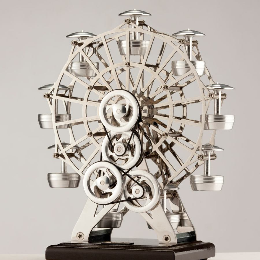 Nostalgic Ferris Wheel for Stirling Model Engines