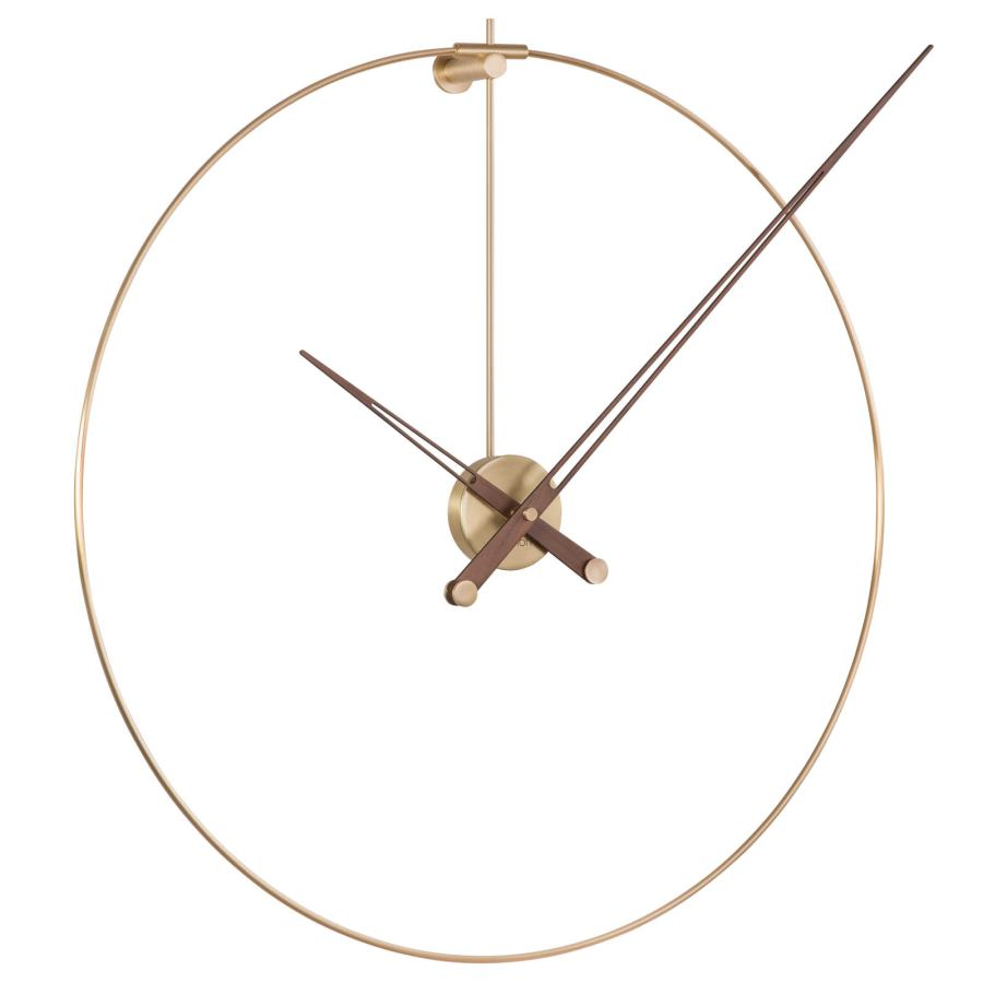 "Minimalist Design Wall Clock ""New Anda"" with Long Hand Ø 70 cm"