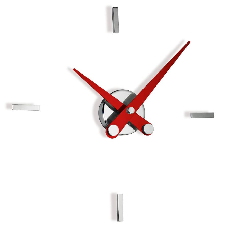 "Moden Design Wall Clock ""Puntos Suspensivos"" made of Steel Ø 50 cm"