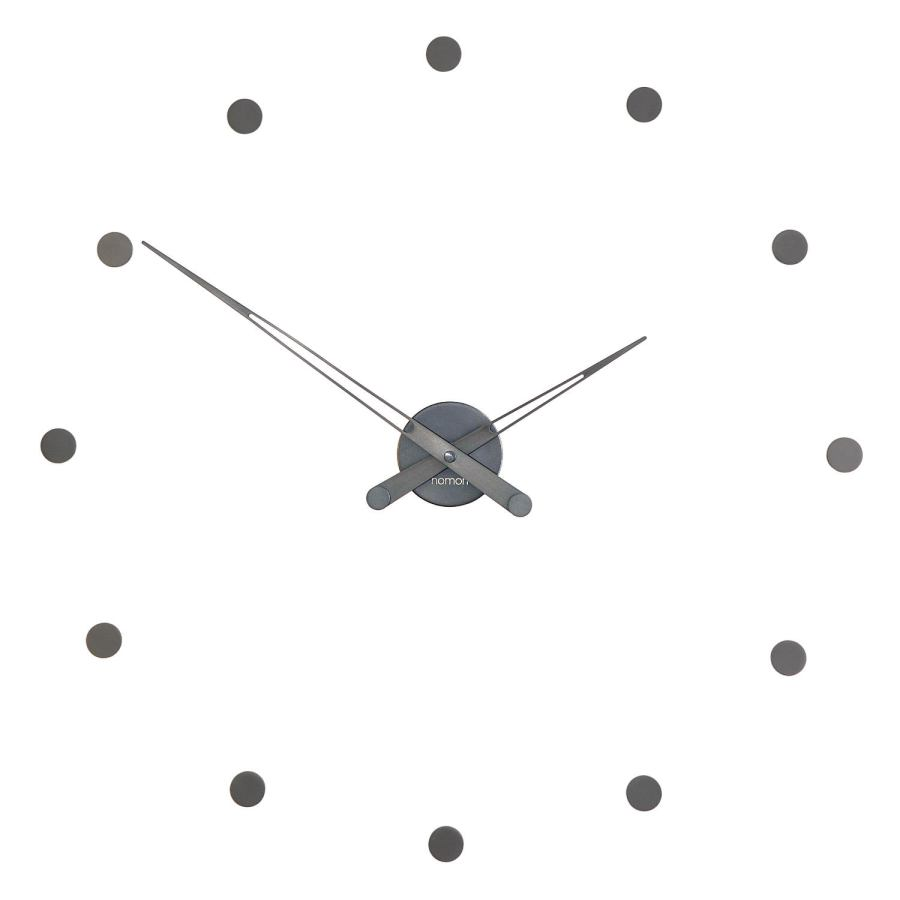 "Minimalist Wall Clock ""Rodón i/T"" made of Steel Ø 70 cm"