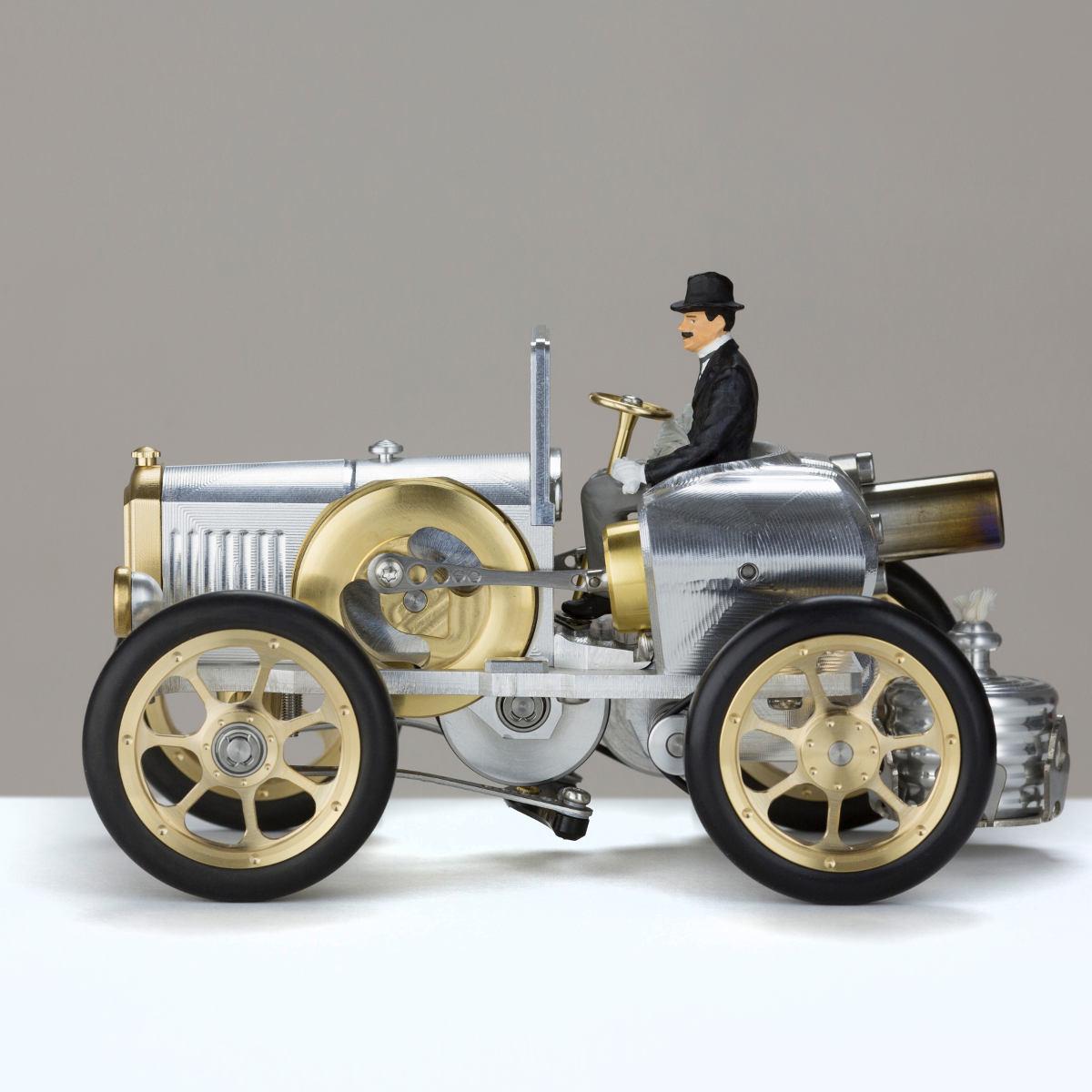 Model Sportscar Ap172 Peugeot With Real Stirling Engine Kunstbaron