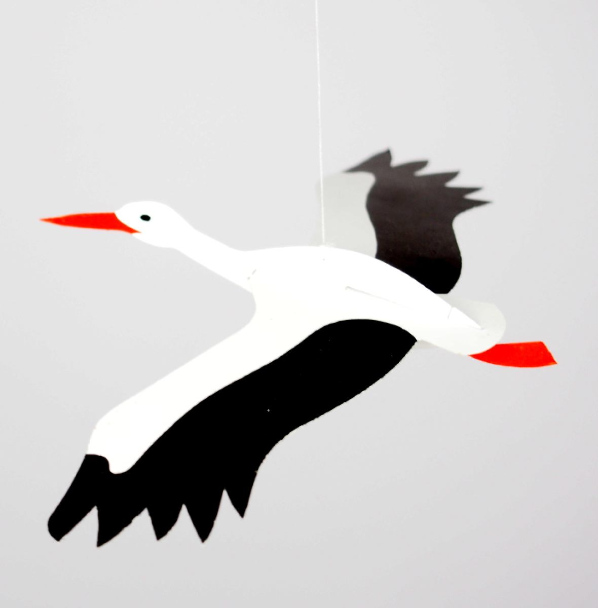 Danish Lucky Storks - Mobile for babies and children by Flensted | Kunstbaron