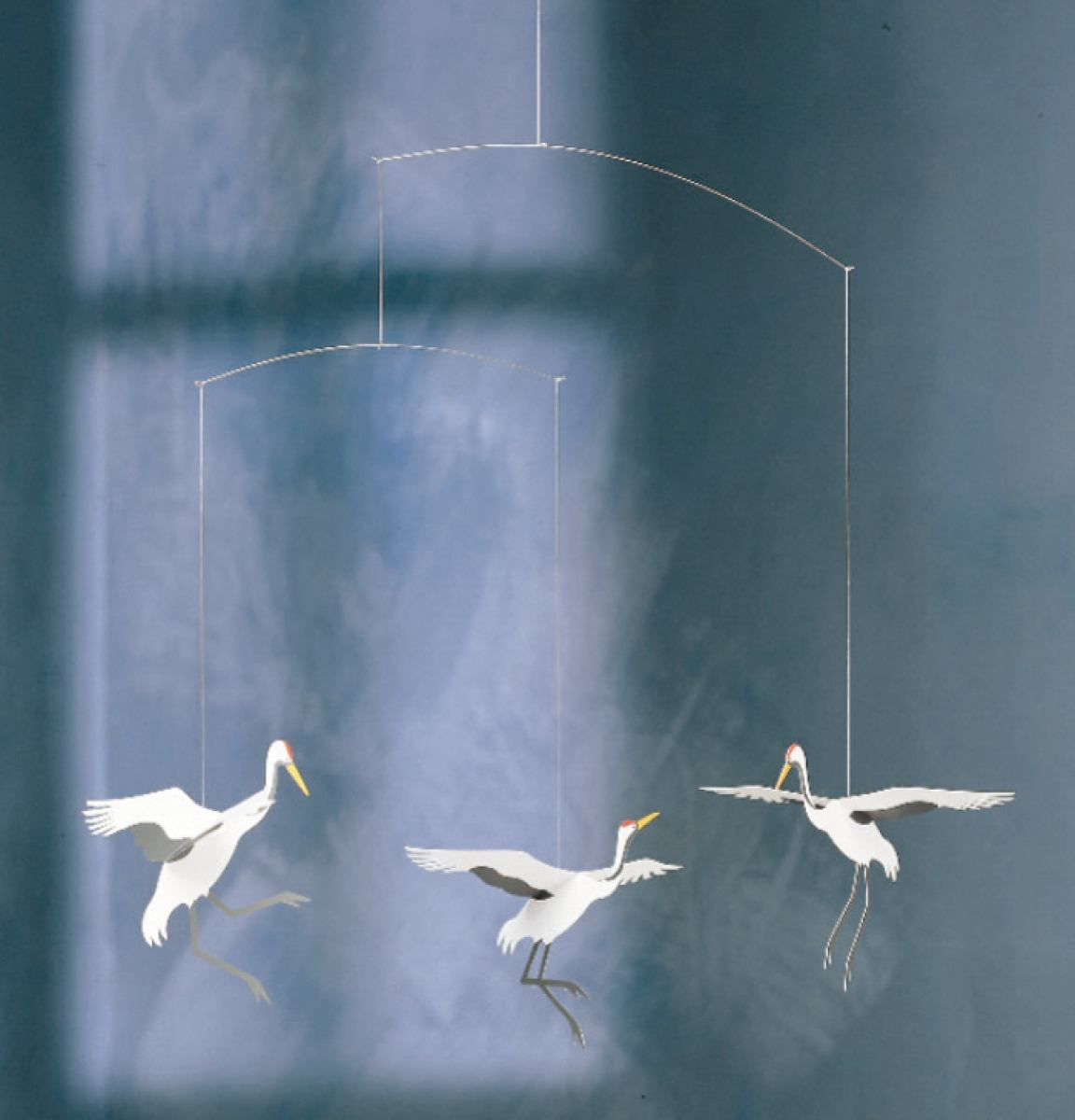 Crane dance - mobile for babies and children by Flensted | Kunstbaron