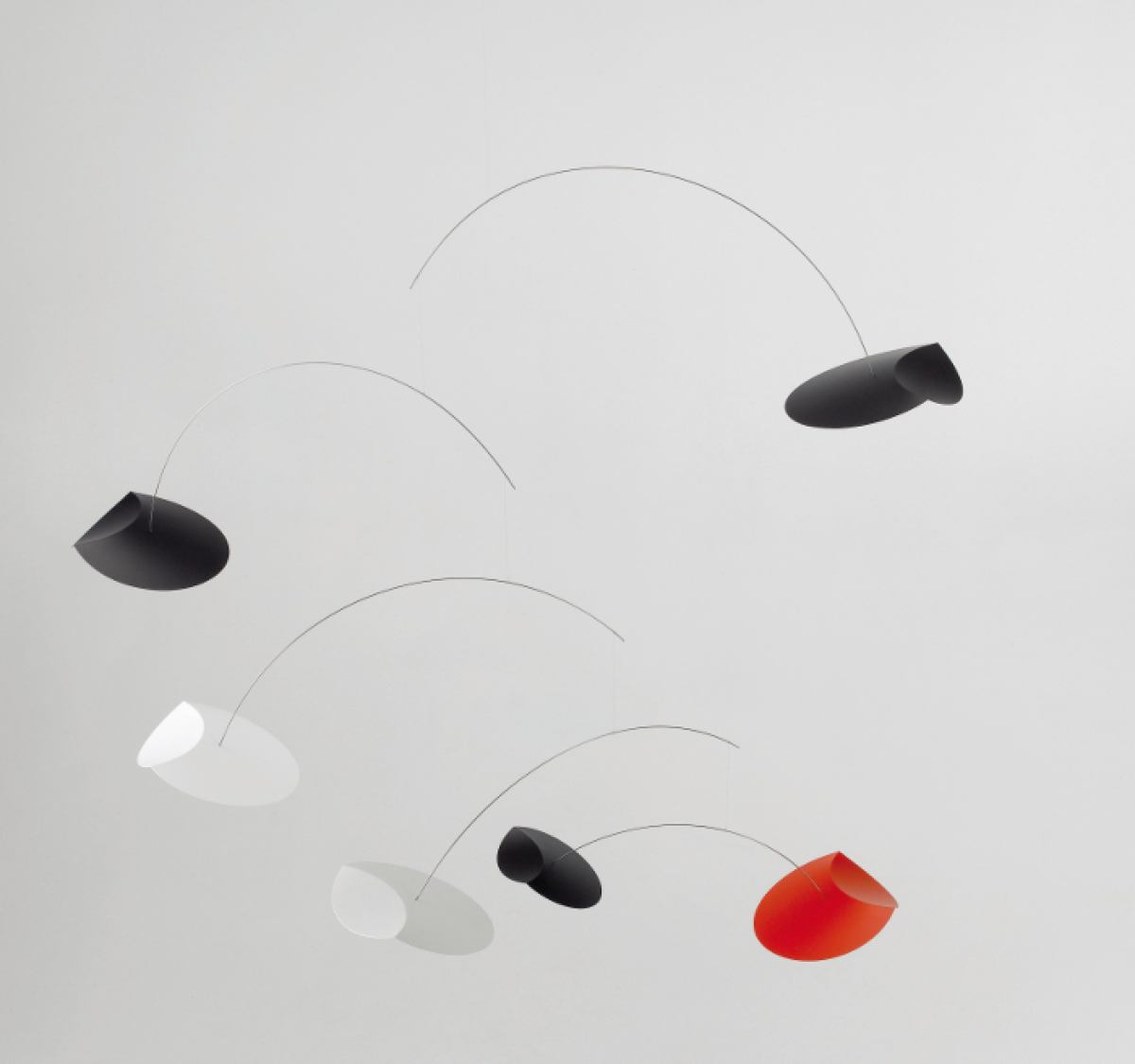 Mobile Flying Saucers by Flensted Mobiles | Kunstbaron