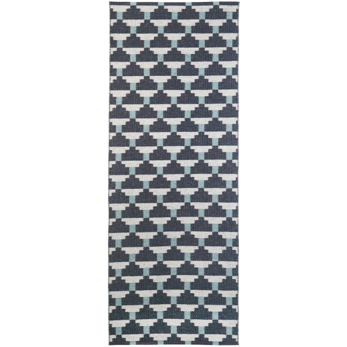 "Plastic Rug ""Confect"" (blue) for indoor & outdoor 