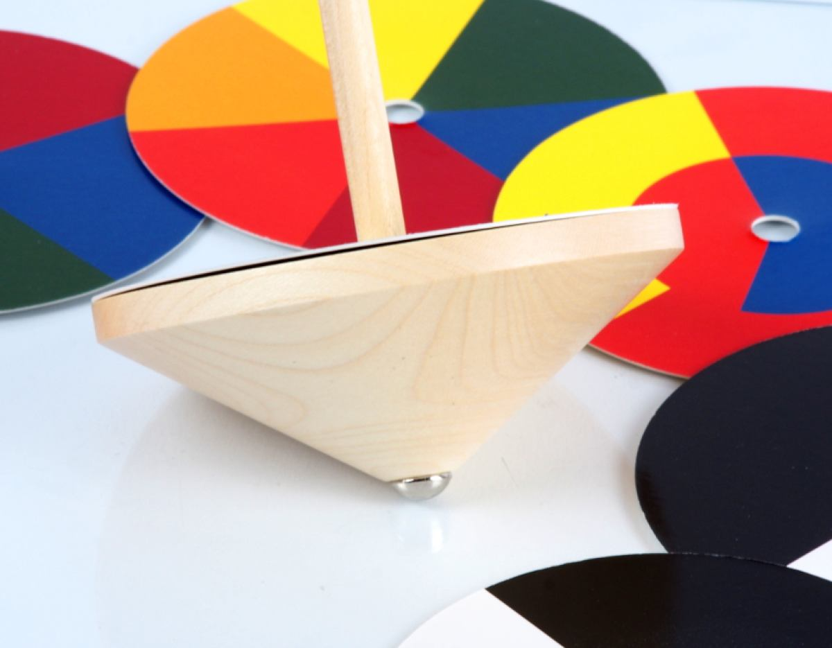 Spinning Top Bauhaus Color Mixer by Naef | Kunstbaron