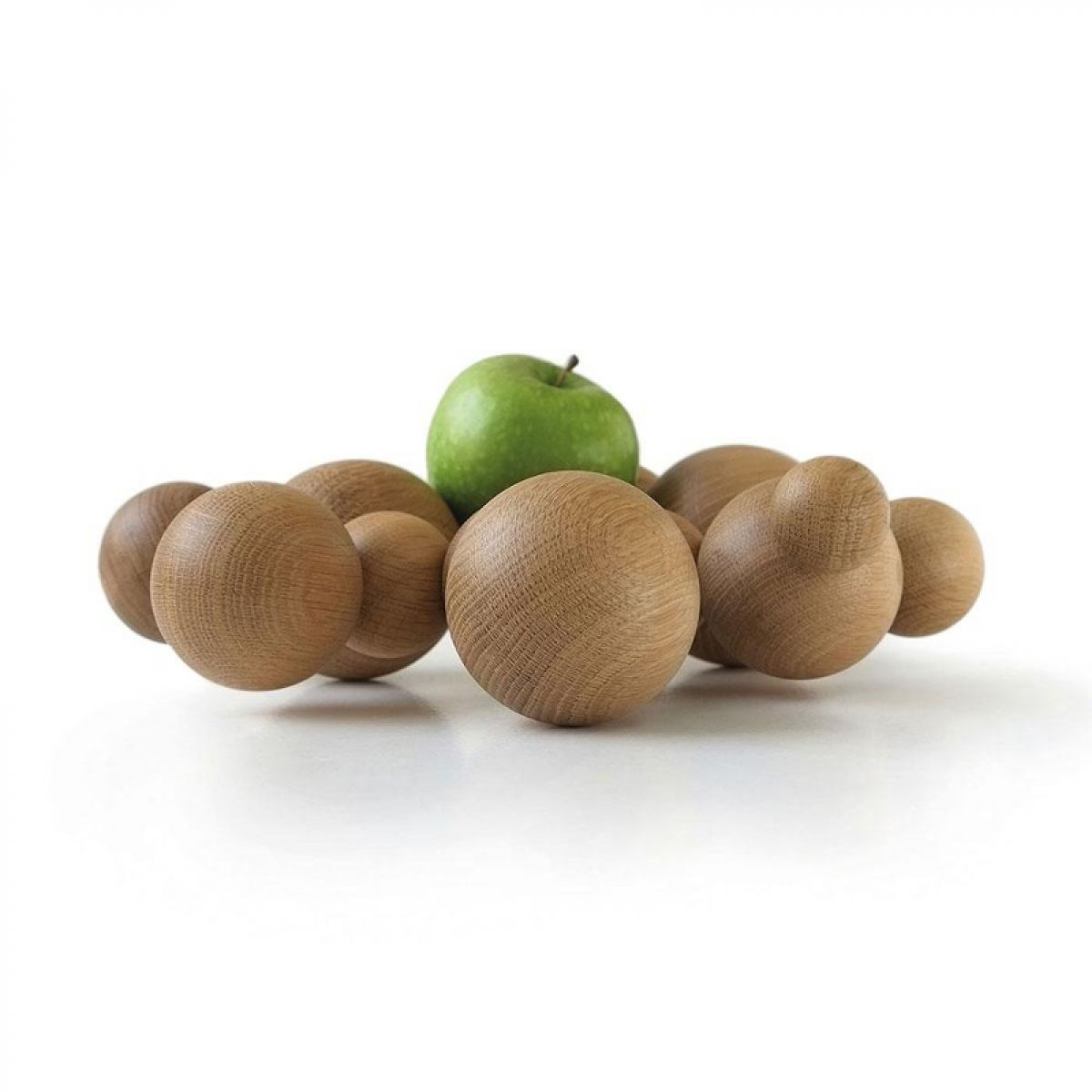 Boule - fruit bowl made of oak wood | Kunstbaron