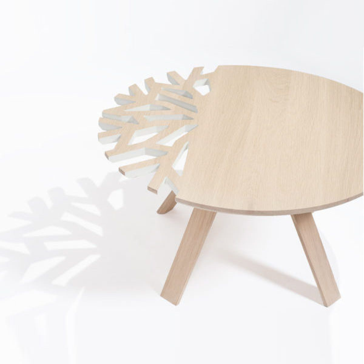 Coffee table, white version