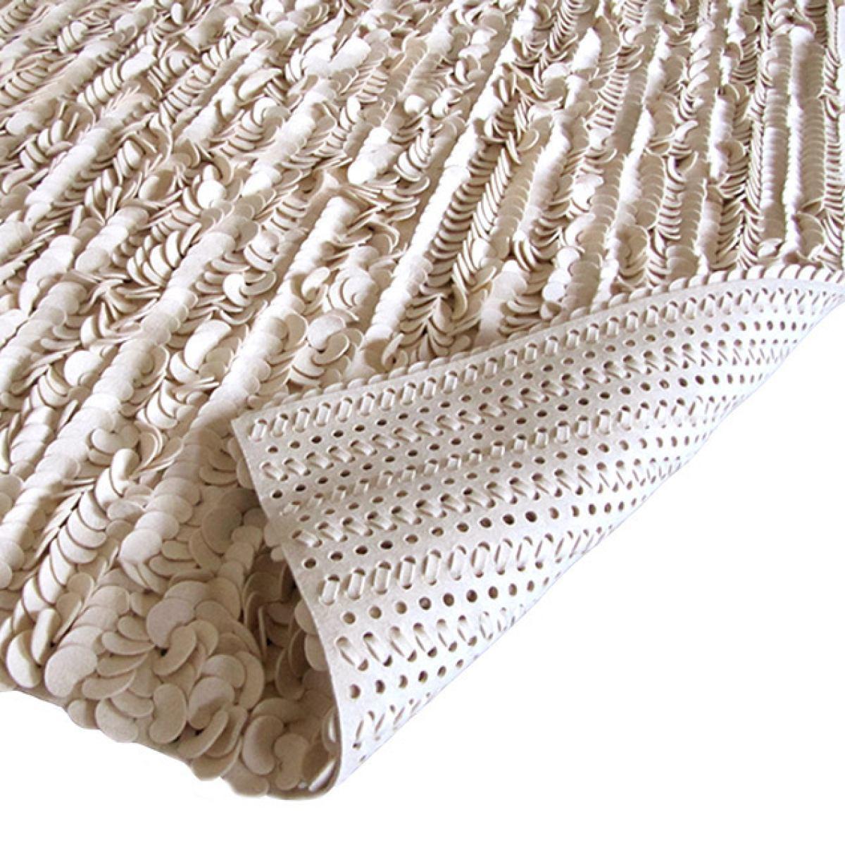 Handmade Wool Felt Rug 'Pure'