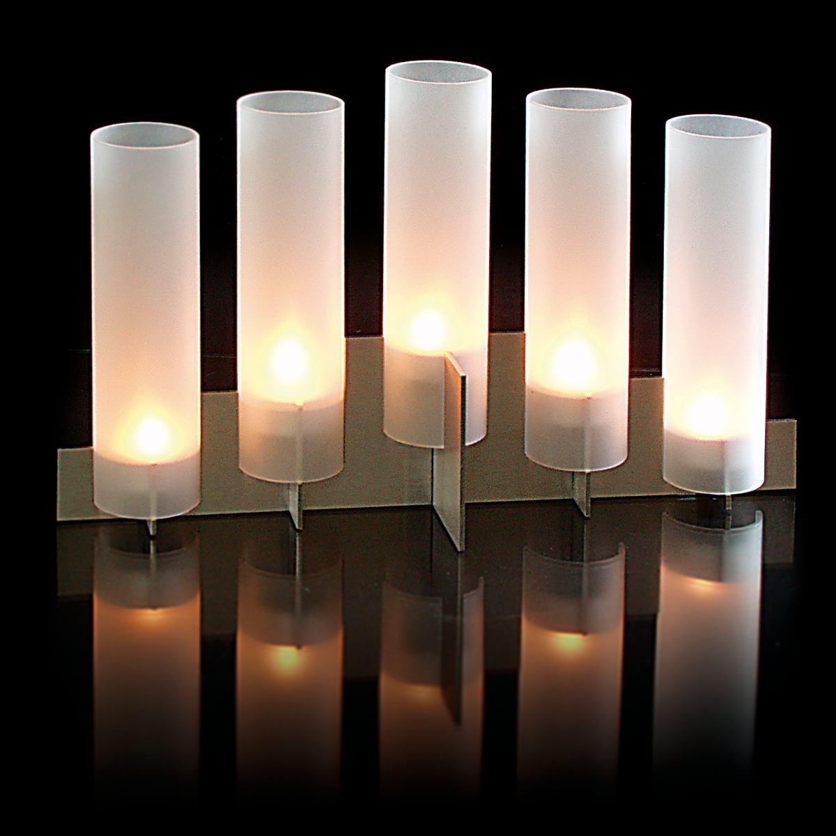 A+B ZJONE Kerzenformen Zum Gie/ßen Set Gro/ß Kunststoff Tischlampenform Kerzengie/ßform Durable Sechszackiger Sternenturm Kerzen Formen F/ür DIY Hausgemachte Kerzen