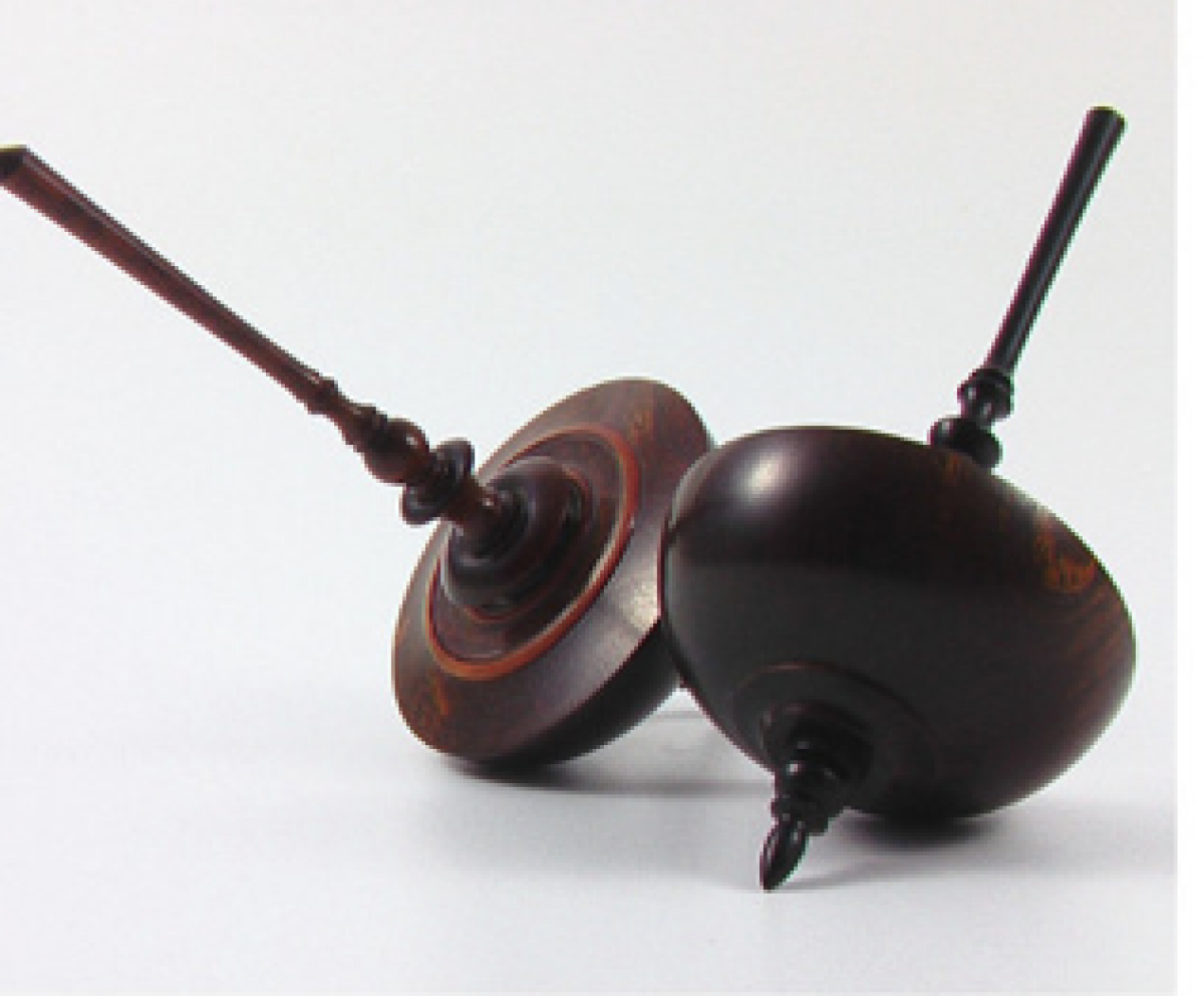 "Handcrafted Spinning Top ""Renaissance"" 