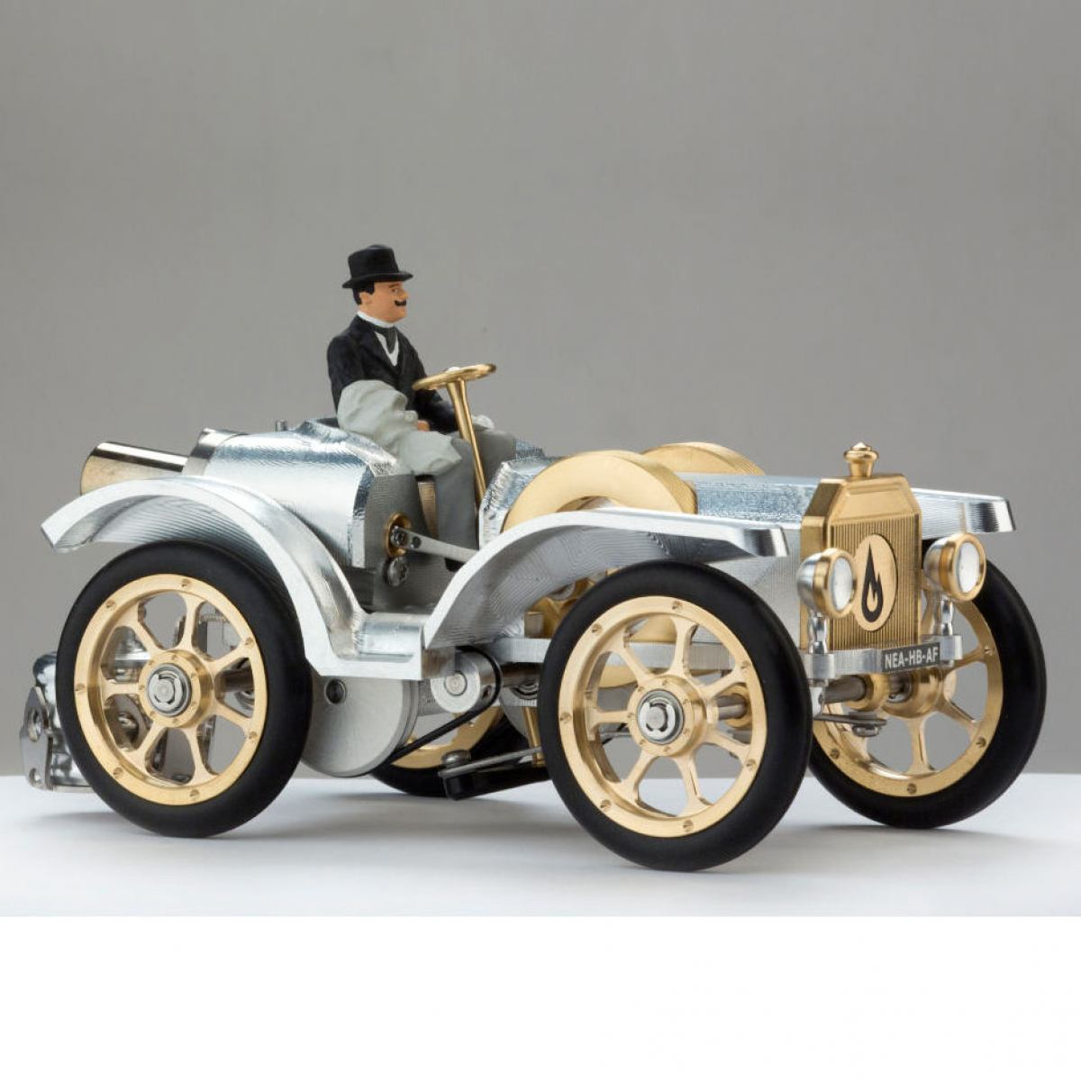 Model car without top and mudguards
